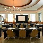 Oval Room Meeting Setup