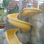 Another favorite slide at the kids water park