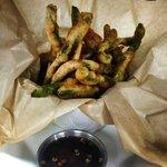 Tempura Green beans w/ thai sauce