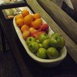frutta a disposizione degli ospiti