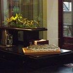 angolo acqua aromatizzata nella lounge