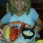 Lobster and lobster chowder - yummy!