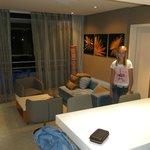 Main suite in room
