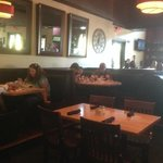 picture of dinning booths.