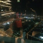 A view from The Vault Lounge on the 71st & 72nd floor