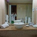 Our room bathroom