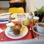 Lovely breakfast at Querido!