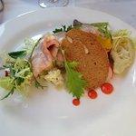 Roast veal  and potatoe salad