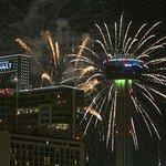 Fireworks on NYE