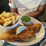 Best haddock and chips ever