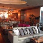 Lounge no subsolo