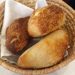 Delicious crunchy bread