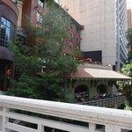 Hotel Valencia prise au dessus de la River Walk