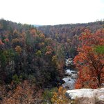 Litttle River Canyon near Orbix Glass in the Fall