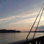 tramonto dal galeone