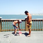 Fishing at Clearwater