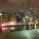 Looking back to the Oats Hotel from the Crown Casino