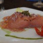 Best Smoke Salmon dish