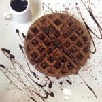Chocolate Waffle never looked so good ����