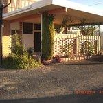 Front view Walgett Motel