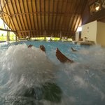 Hydro bath pool (taken using the rental GoPro camera)