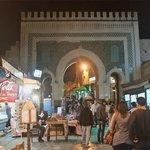 夜のブージュルード門
