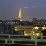 Eiffel Tower Room balcony