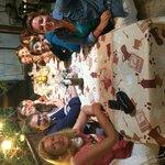 Tour de Franceses disfrutando de nuestra comida