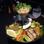 great grilled seafood!