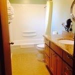 Unit 15 A-FRAME bathroom