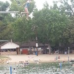 High dive.  There are 6 diving boards.