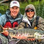 Alaska chum salmon on the fly!