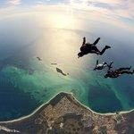 skydiving in jurien bay