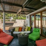 Lotus Beach Villa - Front Terrace, perfect spot to gather on a lazy afternoon