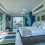 Lotus Beach Villa, one of 5 bedrooms in this beachfront villa.