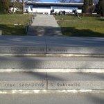 The Olympic Museum - Sanda Dubravčić stair