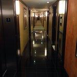 Corridoio verso la stanza