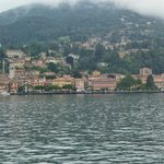 Approaching the town of Menaggio