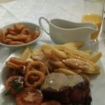 Had this last night. What a meal! The best steak iv ever had. Lovely service from the staff too.