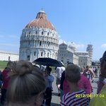 Duomo and Baptistery(background)