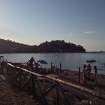 Spiaggia adiacente al Ristorante la Formica