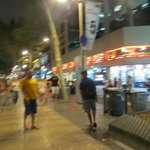 Walk in the street