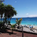 Playa Blanca prom view