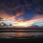 A beautiful sunset at Surin Beach