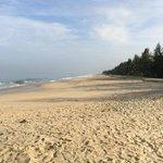 La plage pour nous seuls !