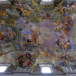 the nave ceiling fresco