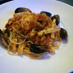 My personal favourite - seafood pasta!