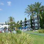 The garden area of Cala Azul Gardens - peace and quiet