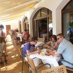Meals at the Cala Azul Park - a short walk across the road