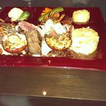 Posh Surf & Turf, Lobster with Fillet and all the trimmings